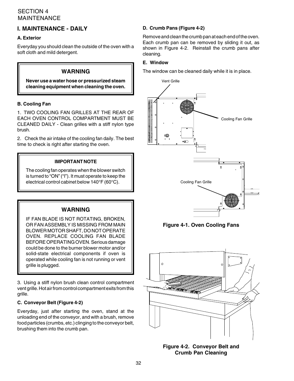 Middleby Marshall PS540-Series Ovens PS540G User Manual | Page 36 / 76