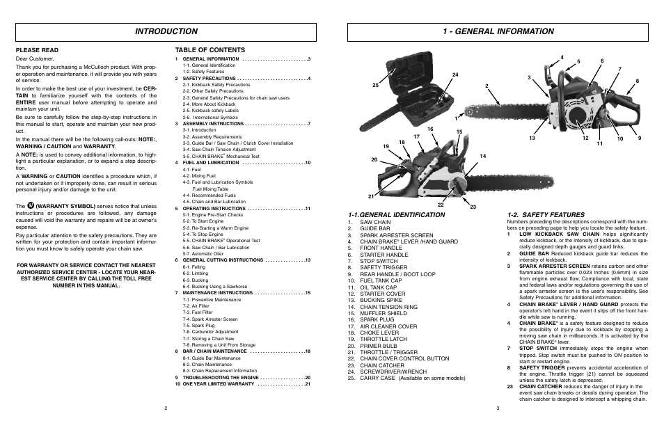 Eager Beaver 2 0 Chainsaw Parts Diagram Manual Guide
