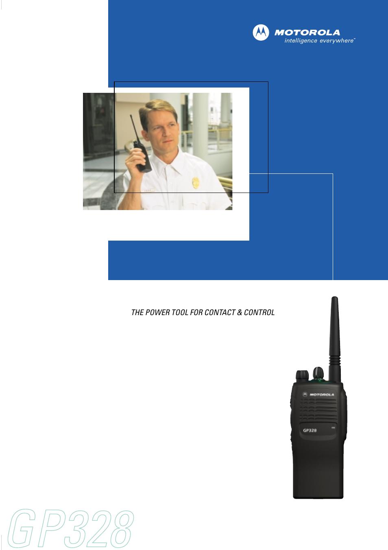 motorola gp328 user manual 4 pages rh manualsdir com GP328 Battery Motorola GP328 Manual