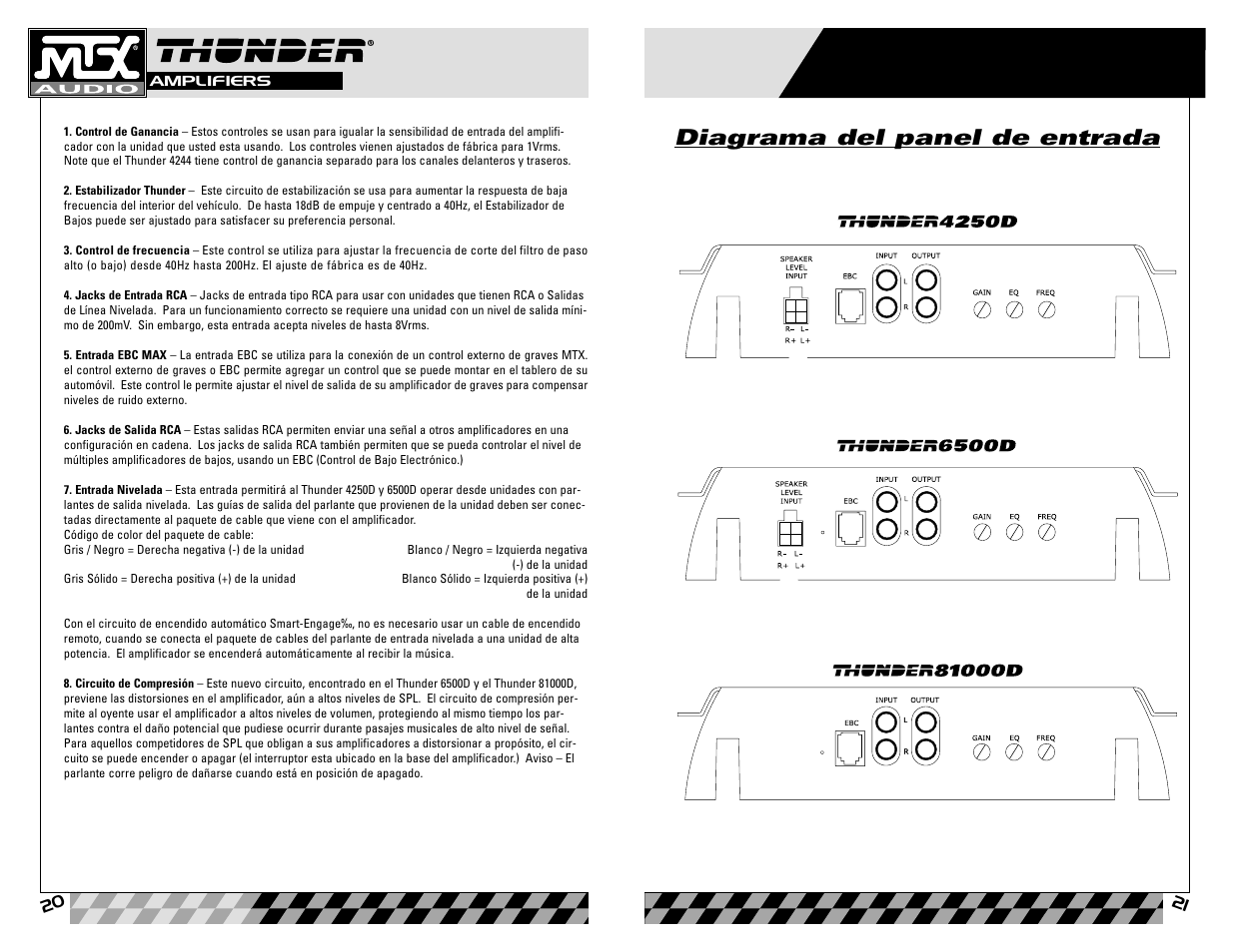mtx audio thunder81000d user manual page 11 19 original mode rh manualsdir com MTX Thunder Speakers MTX Road Thunder