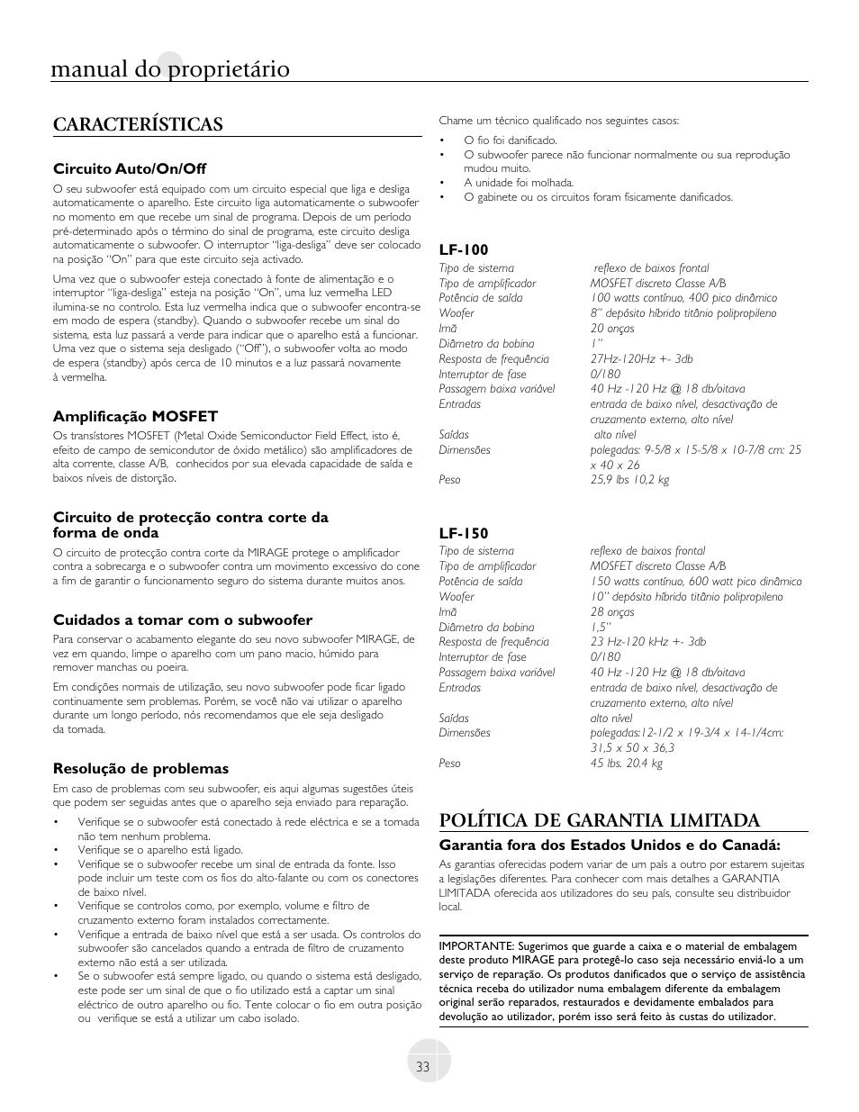 manual do propriet rio caracter sticas pol tica de garantia rh manualsdir com