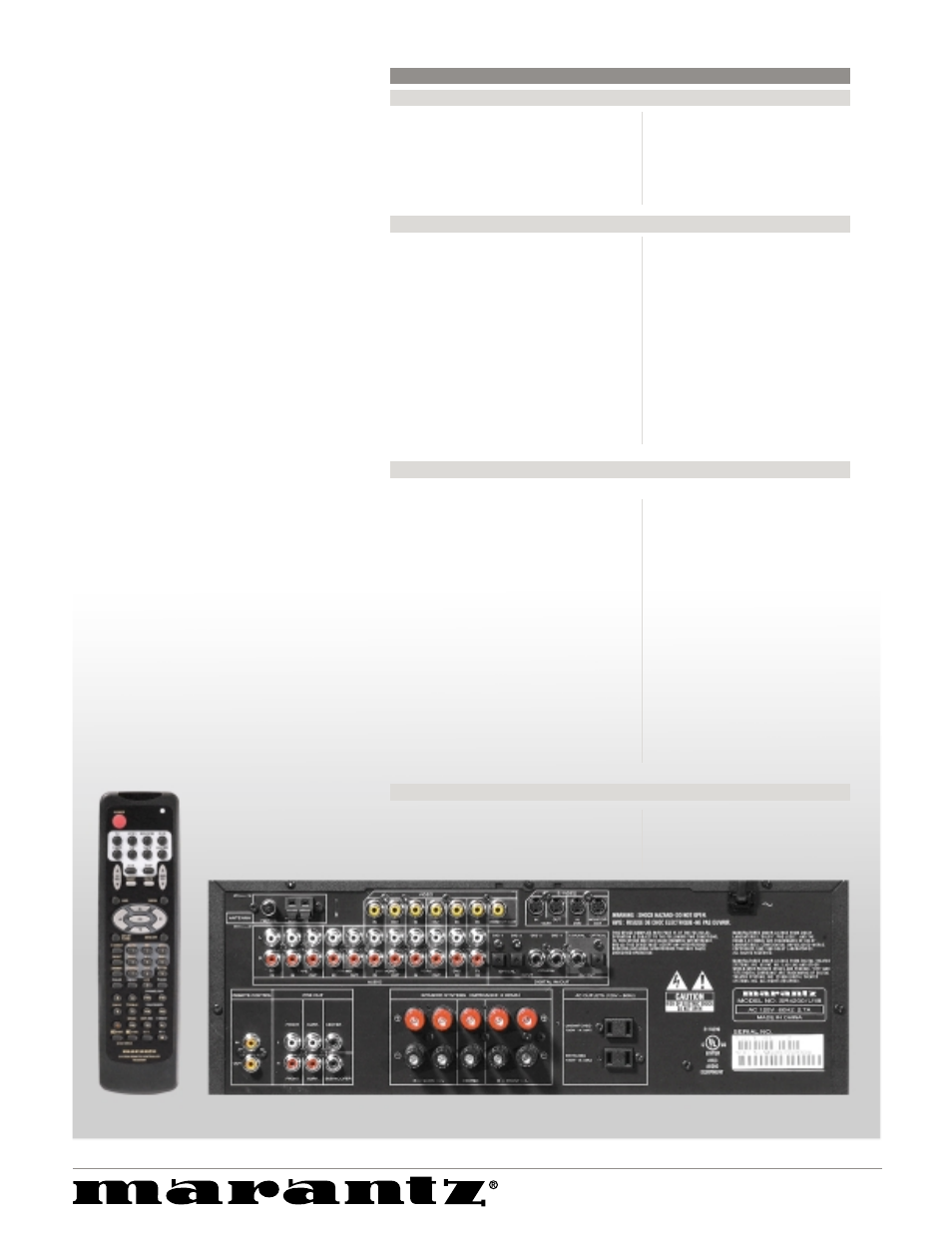 sr4200 a v receiver marantz sr4200 user manual page 2 2 rh manualsdir com marantz sr4600 user manual marantz sr4600 user manual