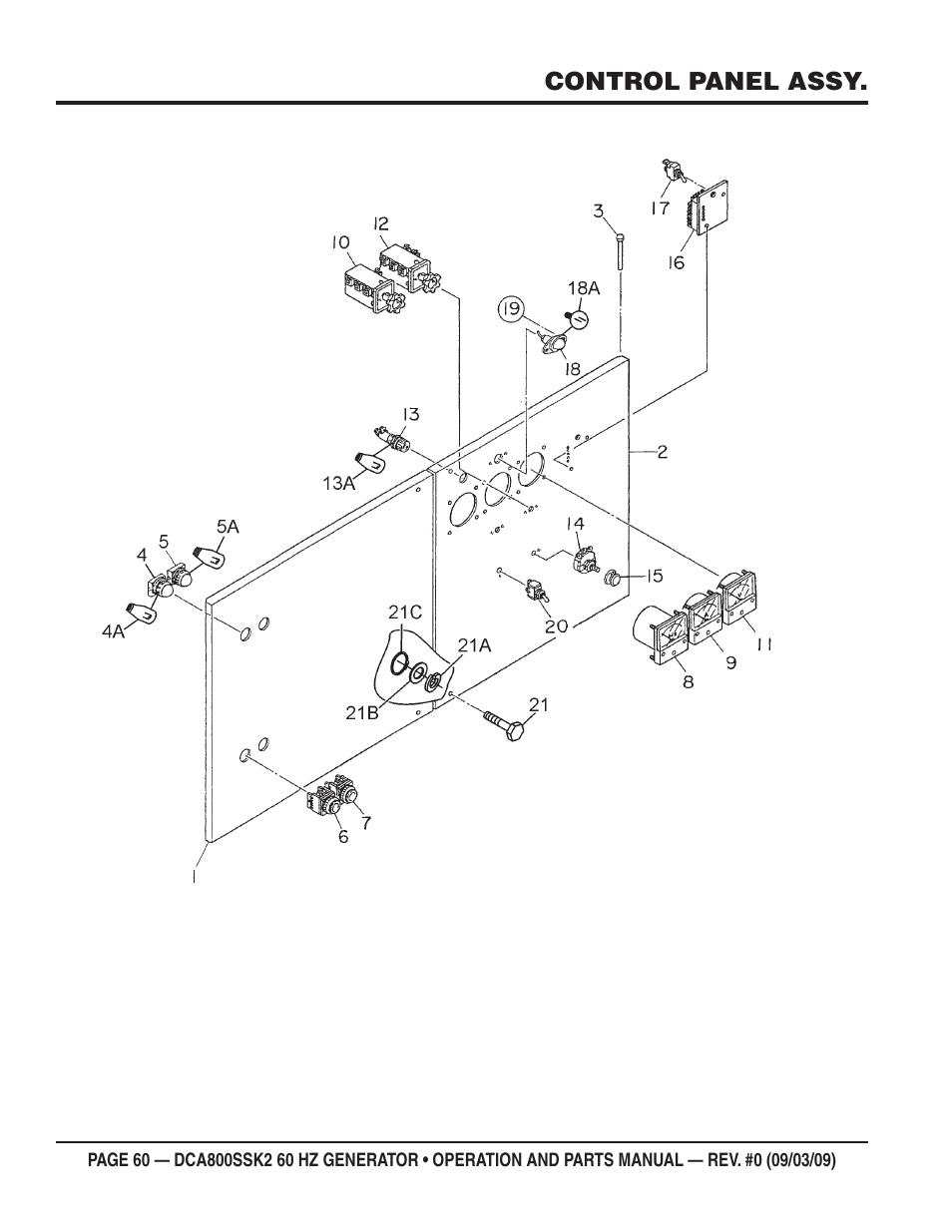 Multiquip MQ POWER WHISPERWATT SERIES 60HZ GENERATOR (STD ) (KOMATSU