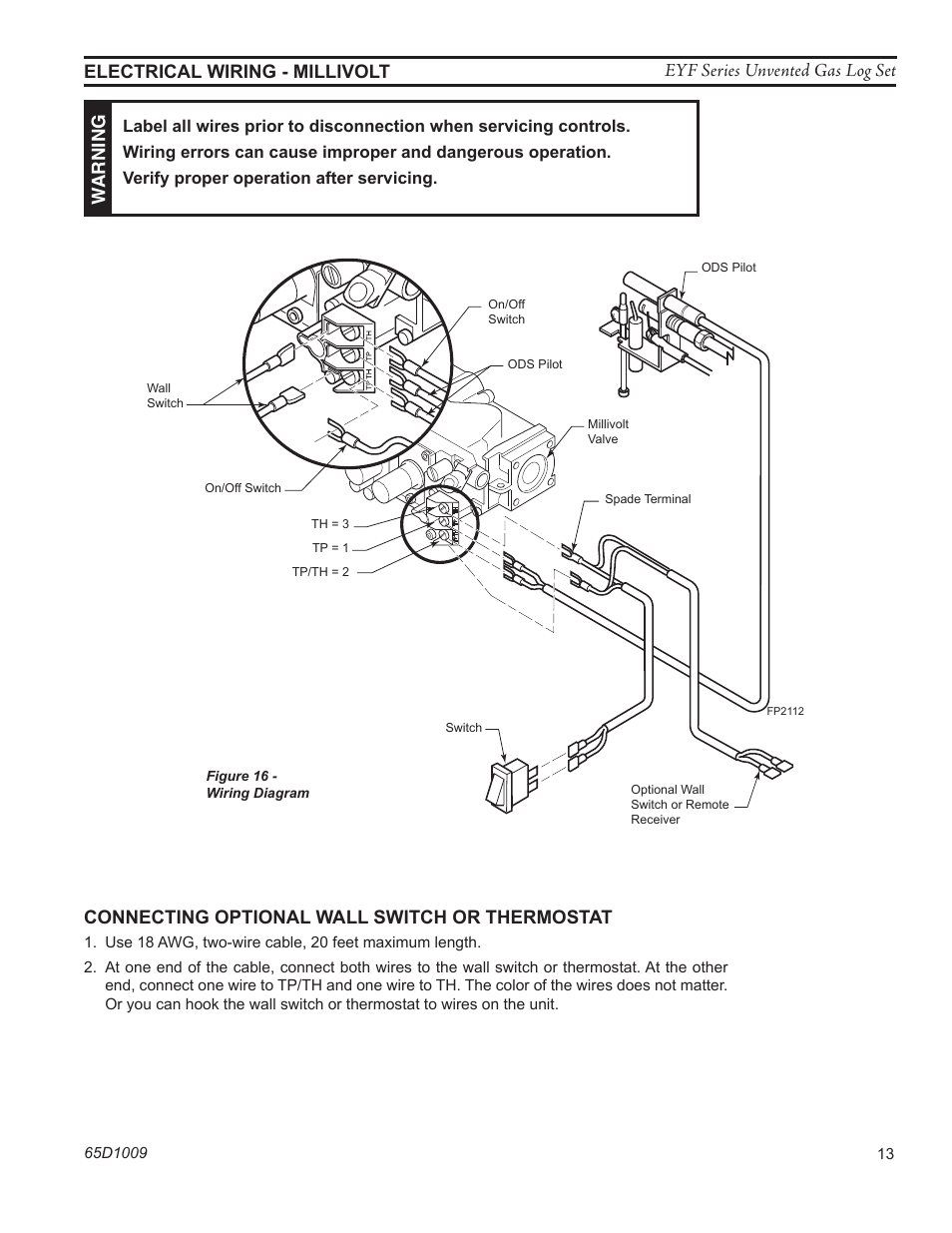 honda pilot wiring ods pilot wiring diagram connecting optional wall switch or thermostat | monessen ... #15