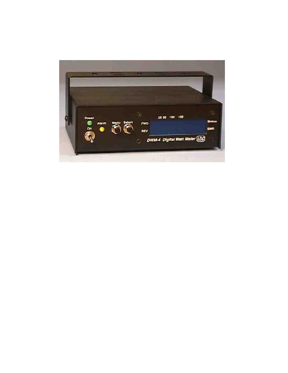 Macsense Connectivity Digital Wattmeter DWM-4 User Manual