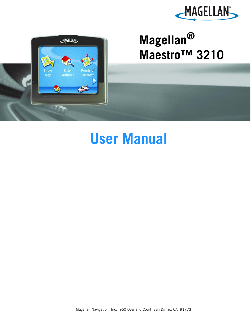 magellan maestro 3210 user manual 68 pages rh manualsdir com Magellan Maestro Not Turning On magellan maestro 3200 user manual