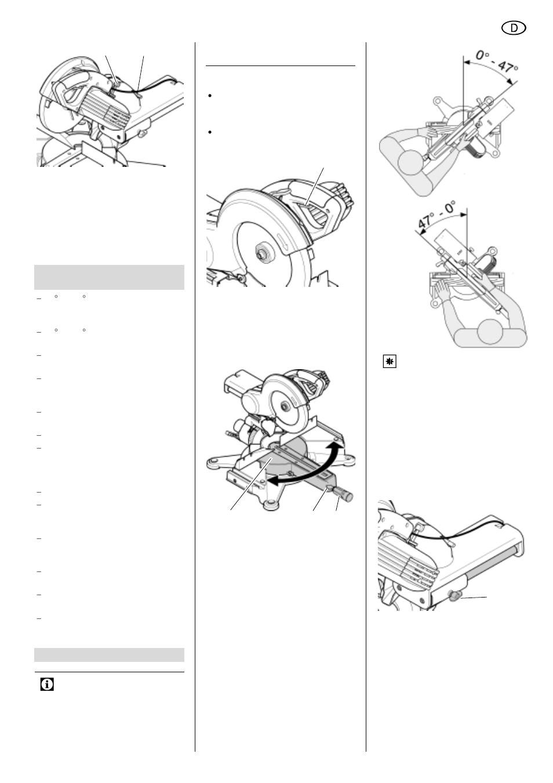 Ongebruikt Deutsch | Metabo KGS 255 Plus User Manual | Page 7 / 64 | Original TN-12