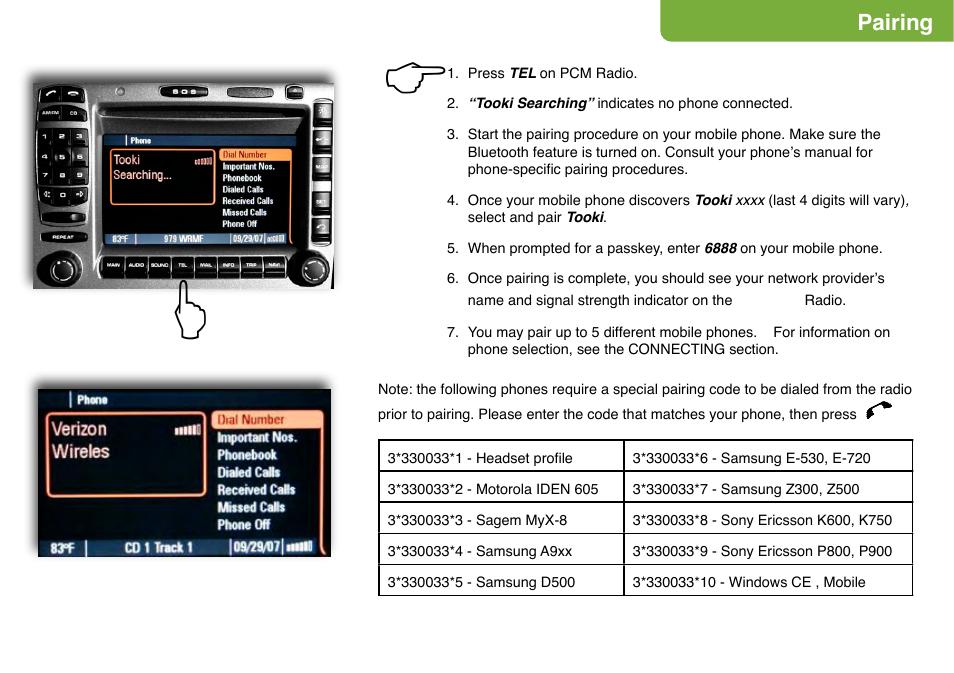 Mercedes Benz Bluetooth Phone Integration Ecp M Mercedes User Manual