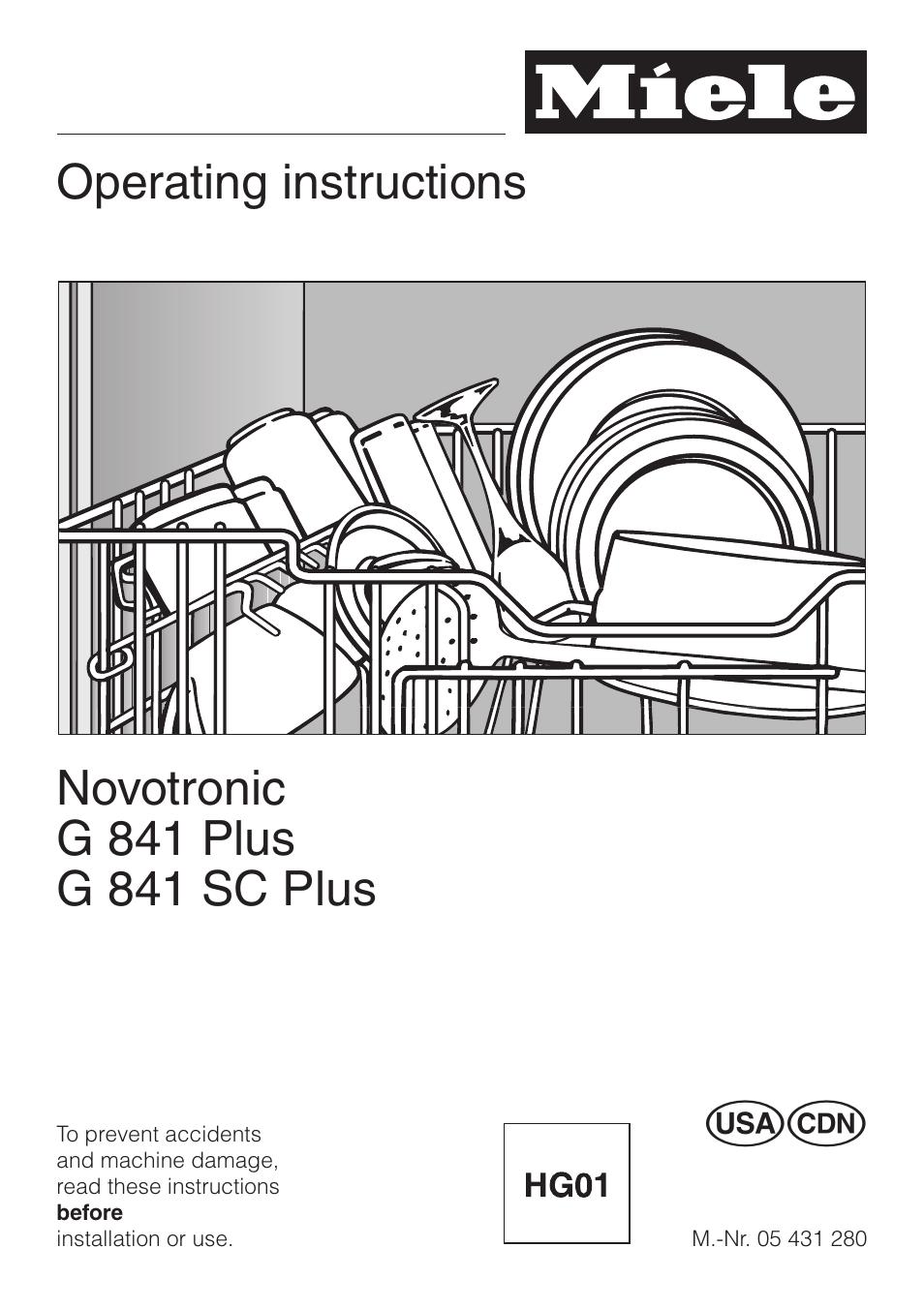 Miele Dishwasher G841 Manual Wiring Diagram For Asko Novotronic G 841 Plus User 48 Pages Rh Manualsdir Com Bosch