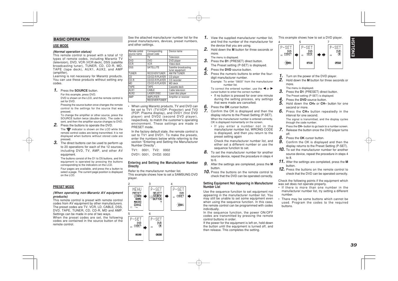 learn use page english marantz sr7500 user manual page 43 58 rh manualsdir com marantz sr 7500 service manual marantz sr 7500 service manual