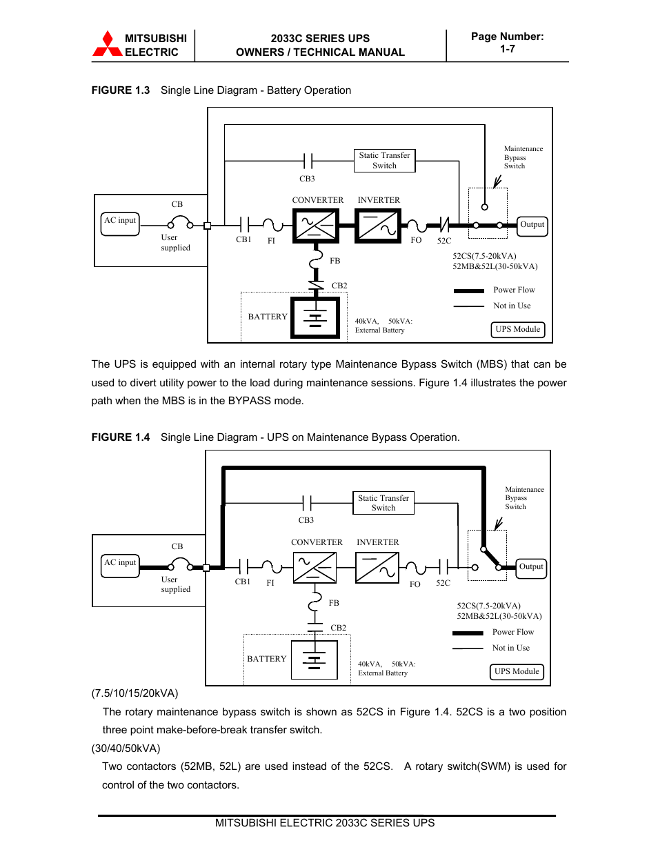 Mitsubishi electric 2033c user manual page 13 48 ccuart Choice Image