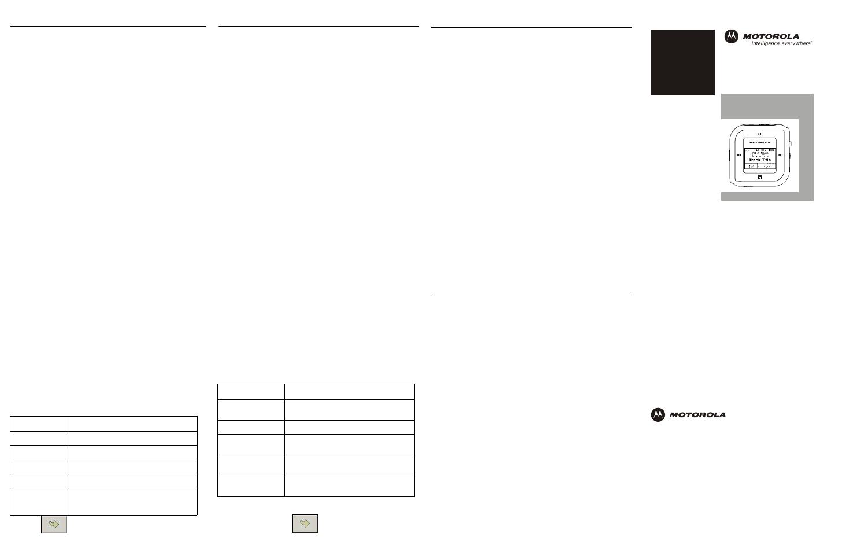 M25 quick setup guide, Install motorola music manager
