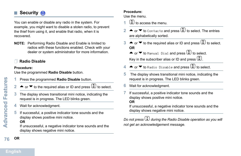 Motorola Xpr 7550 User Manual Manual Guide