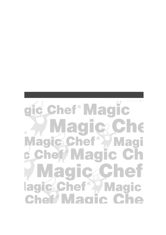 Magic Chef Mcd990w User Manual 32 Pages Original Mode