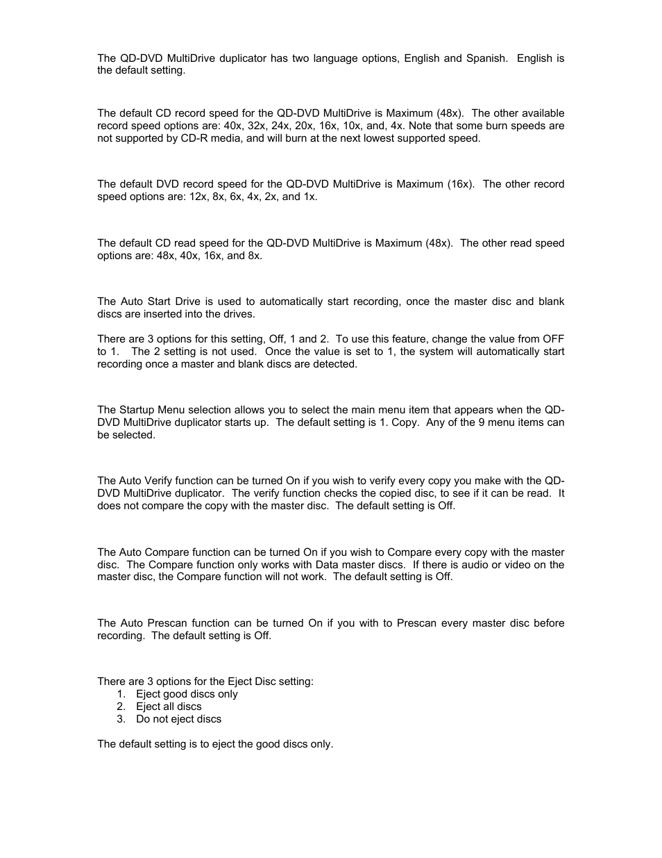 MicroBoards Technology QD-DVD 127 User Manual | Page 15 / 21
