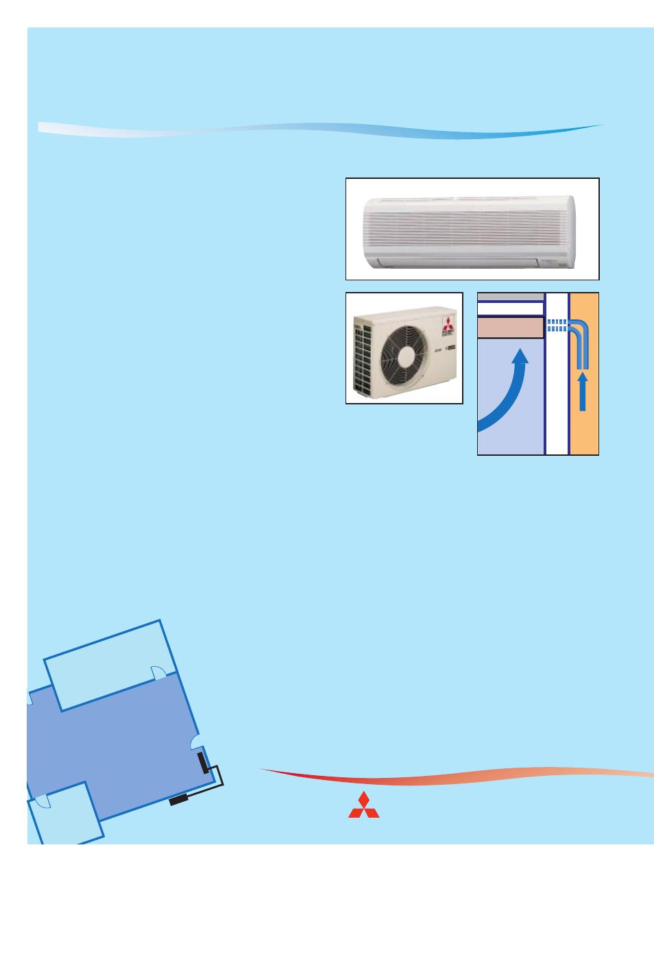 mr slim ductless air conditioners and heat pumps comfort made rh manualsdir com Mitsubishi Montero Limited Repair Parts 2005 Mitsubishi Lancer Manual PDF