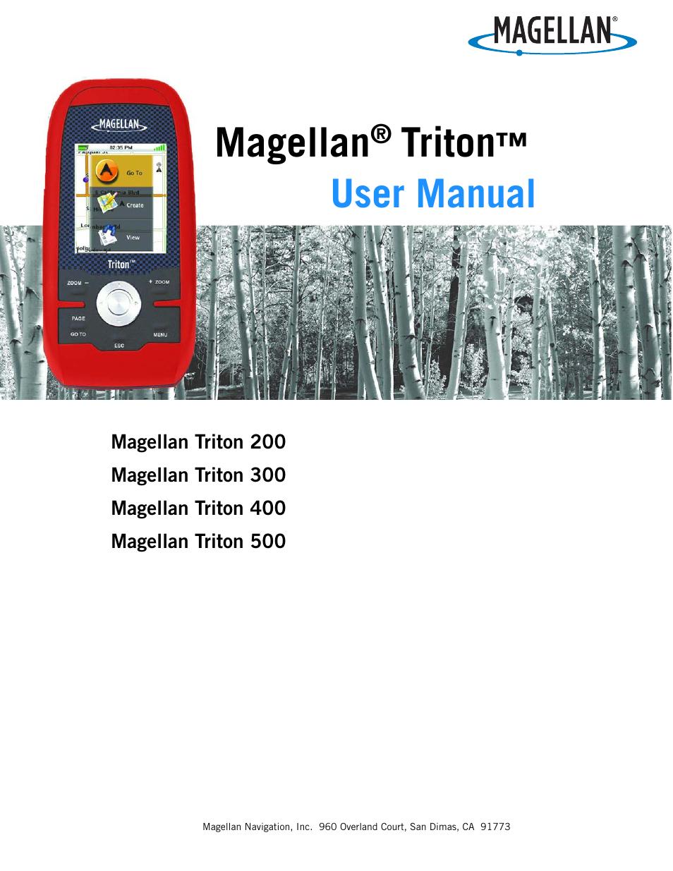 magellan triton 300 user manual 30 pages rh manualsdir com Magellan Triton 2000 Magellan GPS Tracker Manual