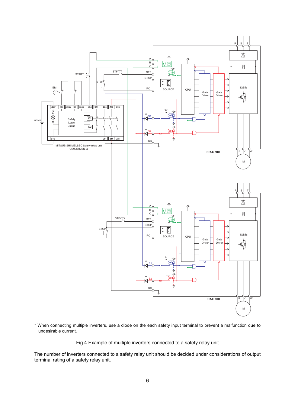 Electromagnetic Relay Driver Mitsubishi Electric Fr D700 User Manual Page 8 11 Original Mode