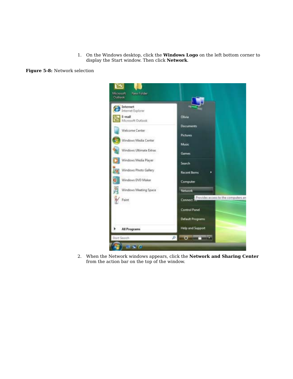 configuring tcp ip in windows vista motorola cpei 885 user manual rh manualsdir com Bissell PowerSteamer User Manual windows vista user manual pdf
