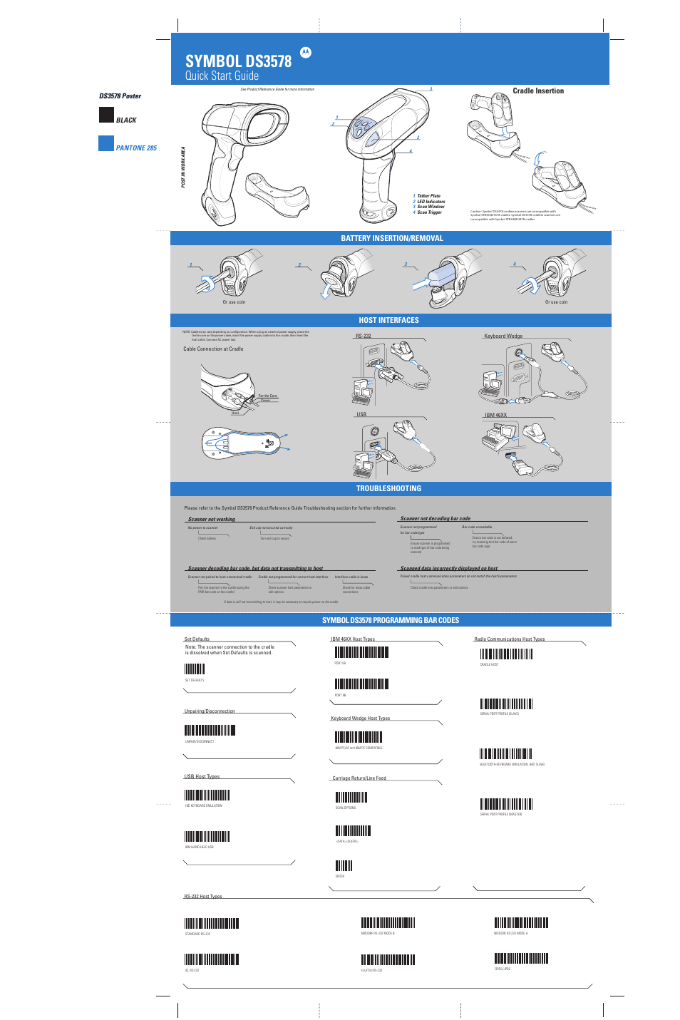 Symbol Scanner Manual Ds3578 Complete Wiring Diagrams