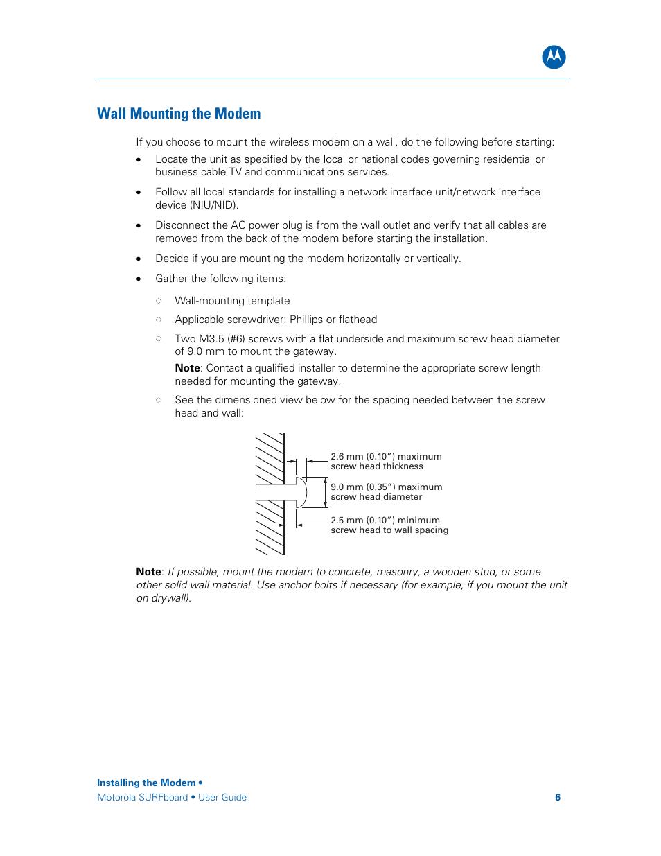 Motorola Surfboard Sbg6580 Series User Manual Manual Guide