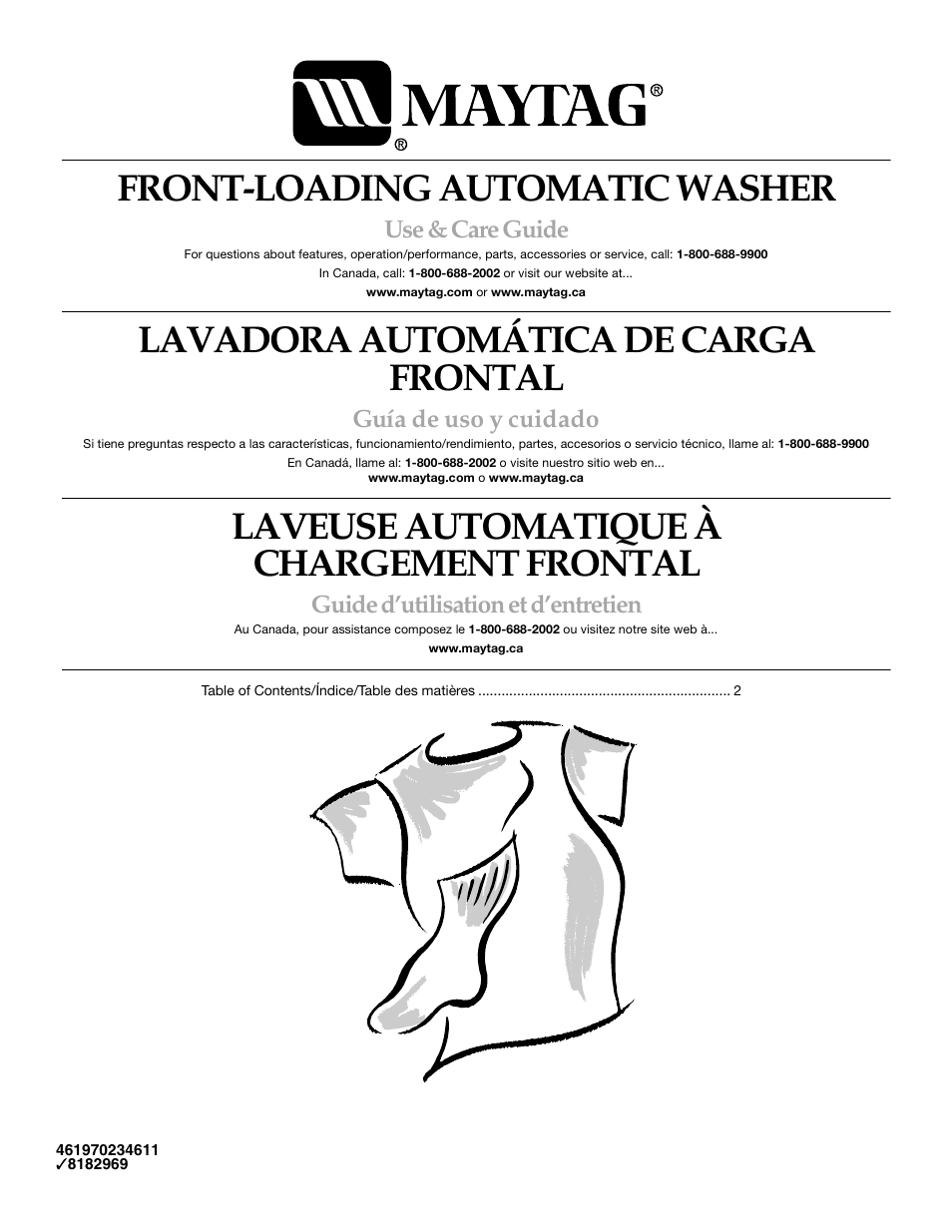 Commercial Maytag Front Manual Guide
