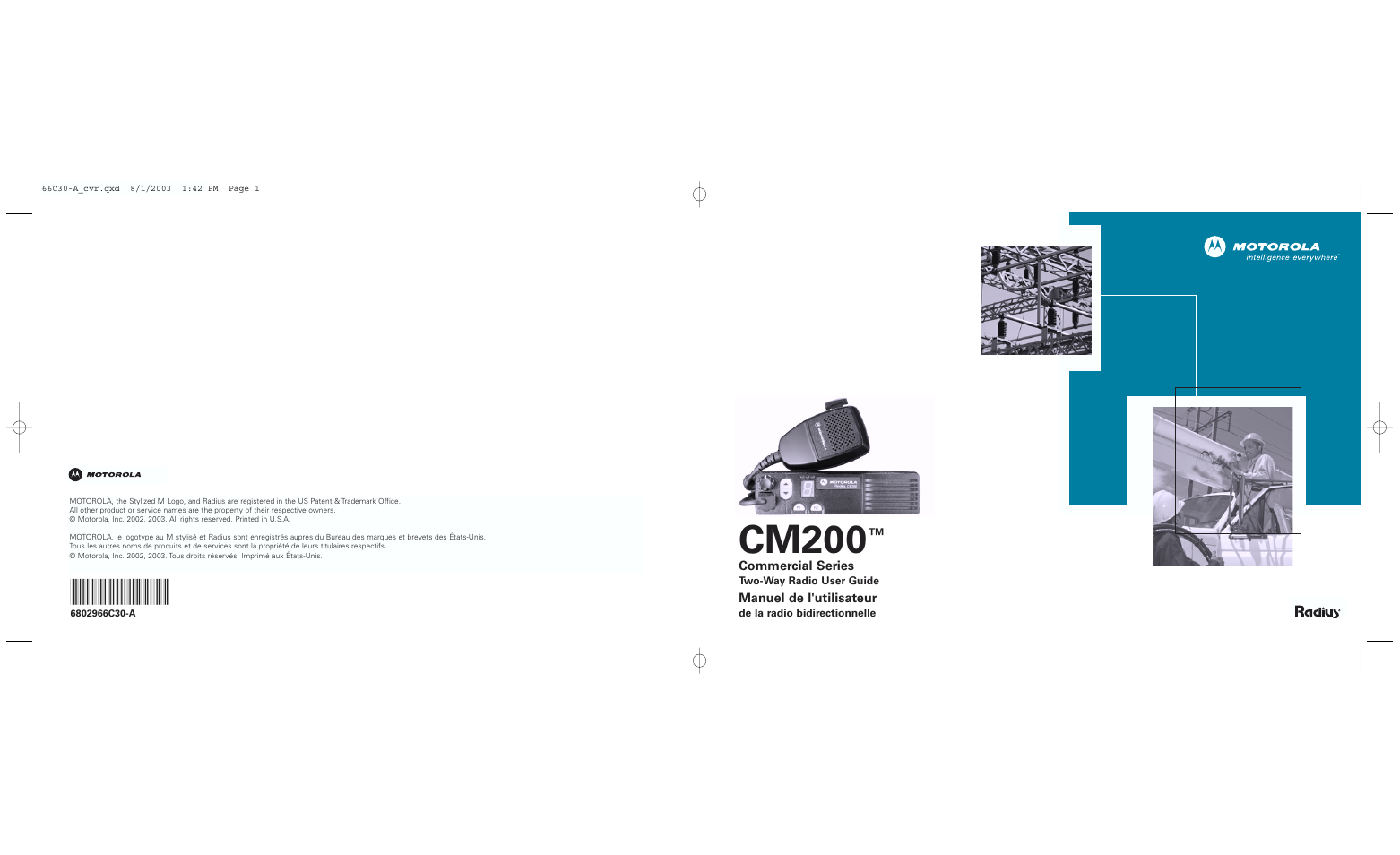 motorola cm200 user manual 32 pages rh manualsdir com Motorola Radius Cm300 Motorola CM200 Accessory Pinout