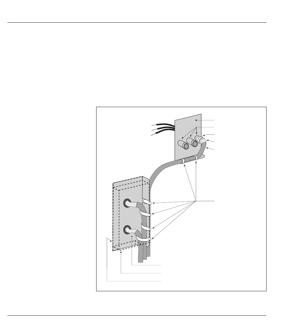 Mge Comet Ups Wiring Schematic Schematics Diagrams Appendices Connection Of The Cable Shielding Cont Rh Manualsdir Com