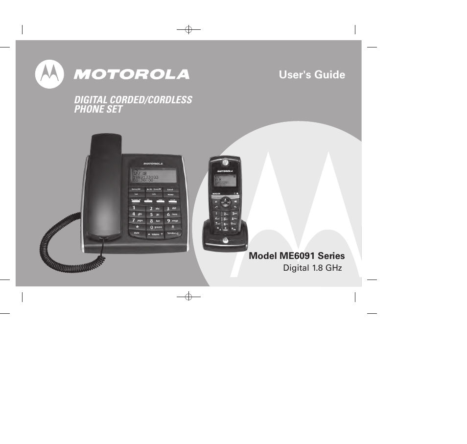 motorola me6091 user manual