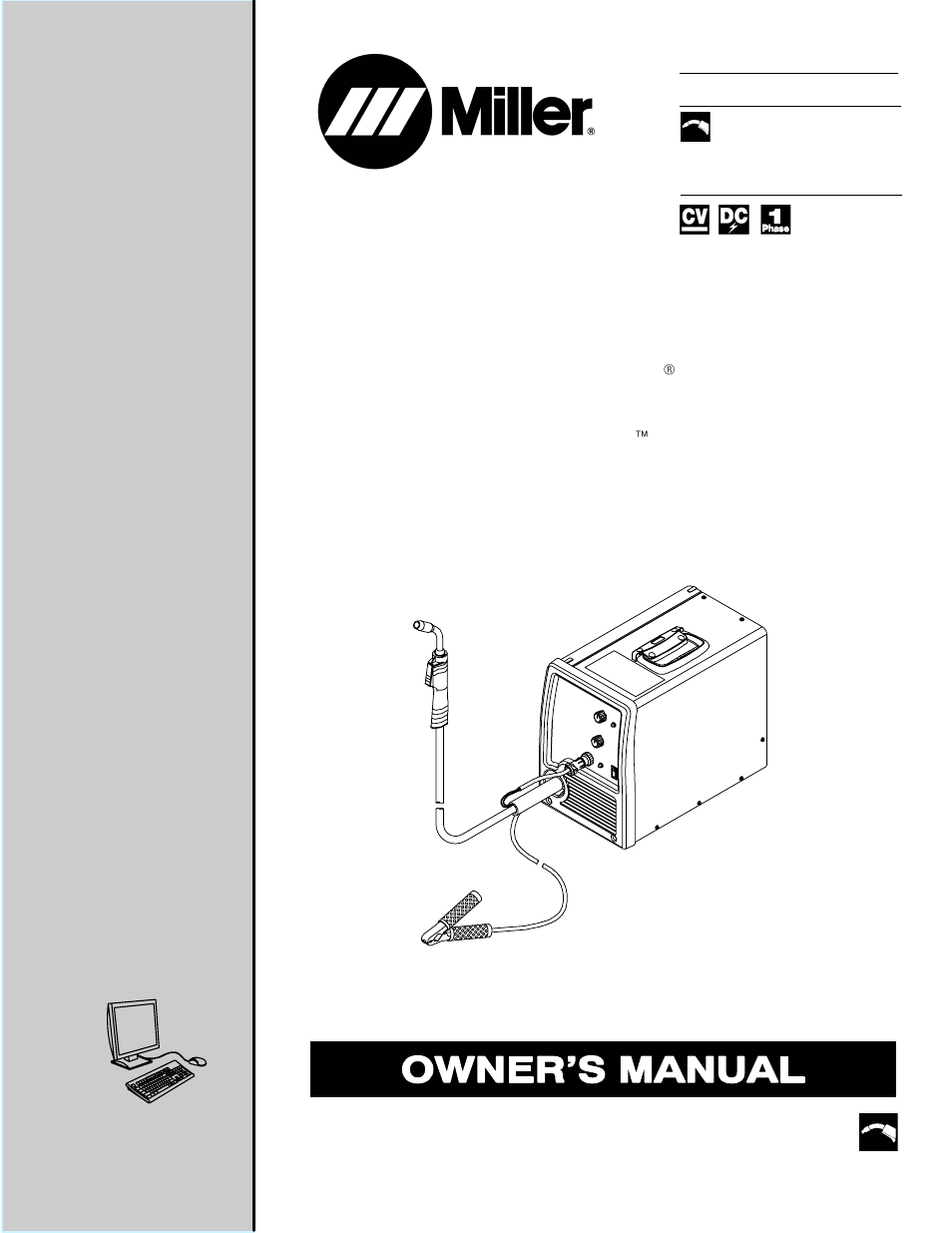 miller electric millermatic 180 user manual