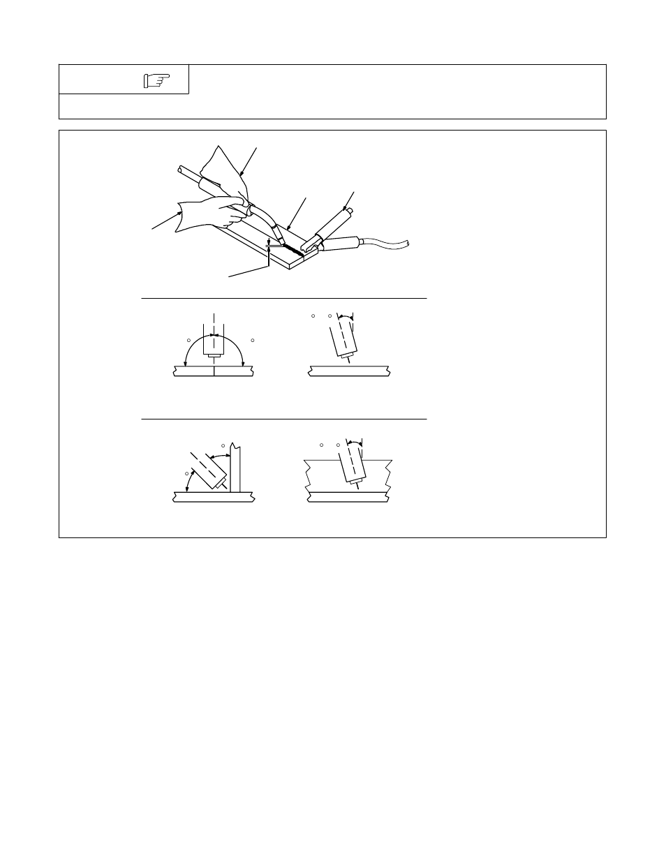 Welding Gun Angle Diagram Trusted Wiring Diagrams Holding And Positioning 3 Water