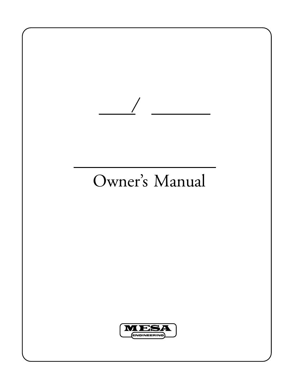 Mesa/Boogie Mark IV Amplifier User Manual   29 pages on mesa boogie mark iv combo, mesa boogie mark iv settings, mesa boogie mark iv tubes, mesa boogie mark iv pcb,