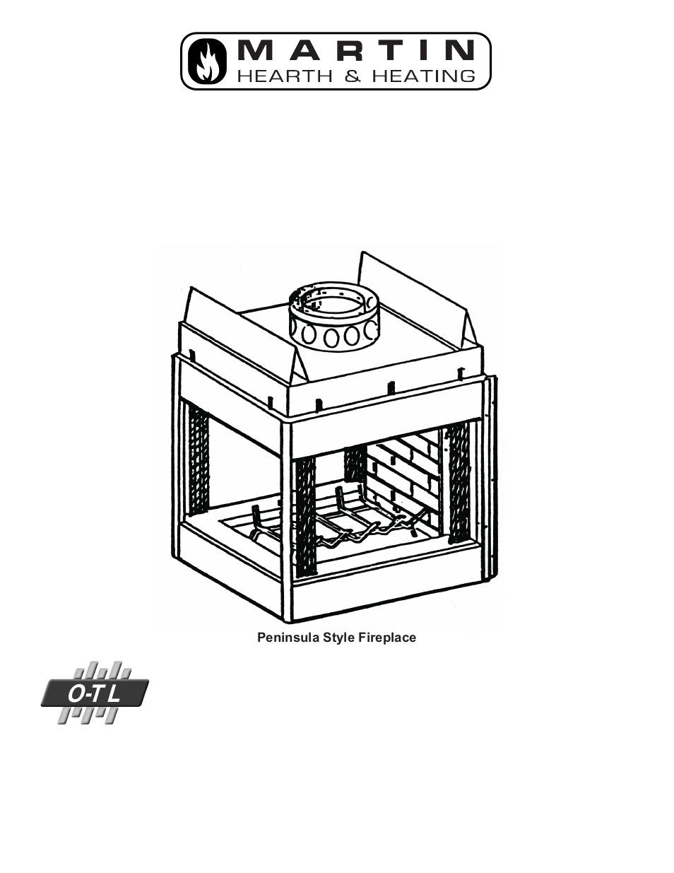 martin fireplaces mpl peninsula 53d9042 user manual 32 pages rh manualsdir com Martin Industries Fireplaces Company Holly Martin Oakhurst Electric Fireplace