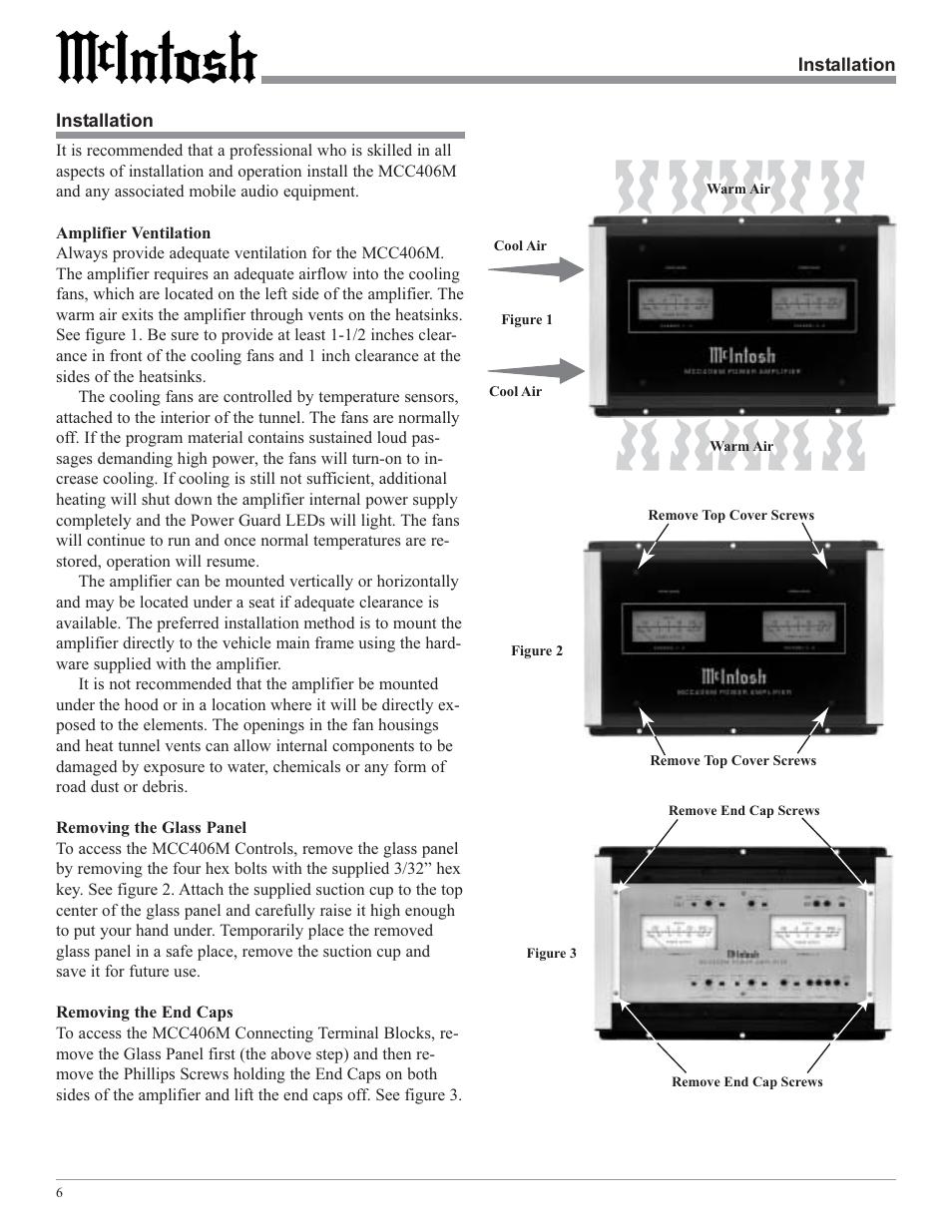 mcintosh mcc406m user manual page 6 24 original mode rh manualsdir com