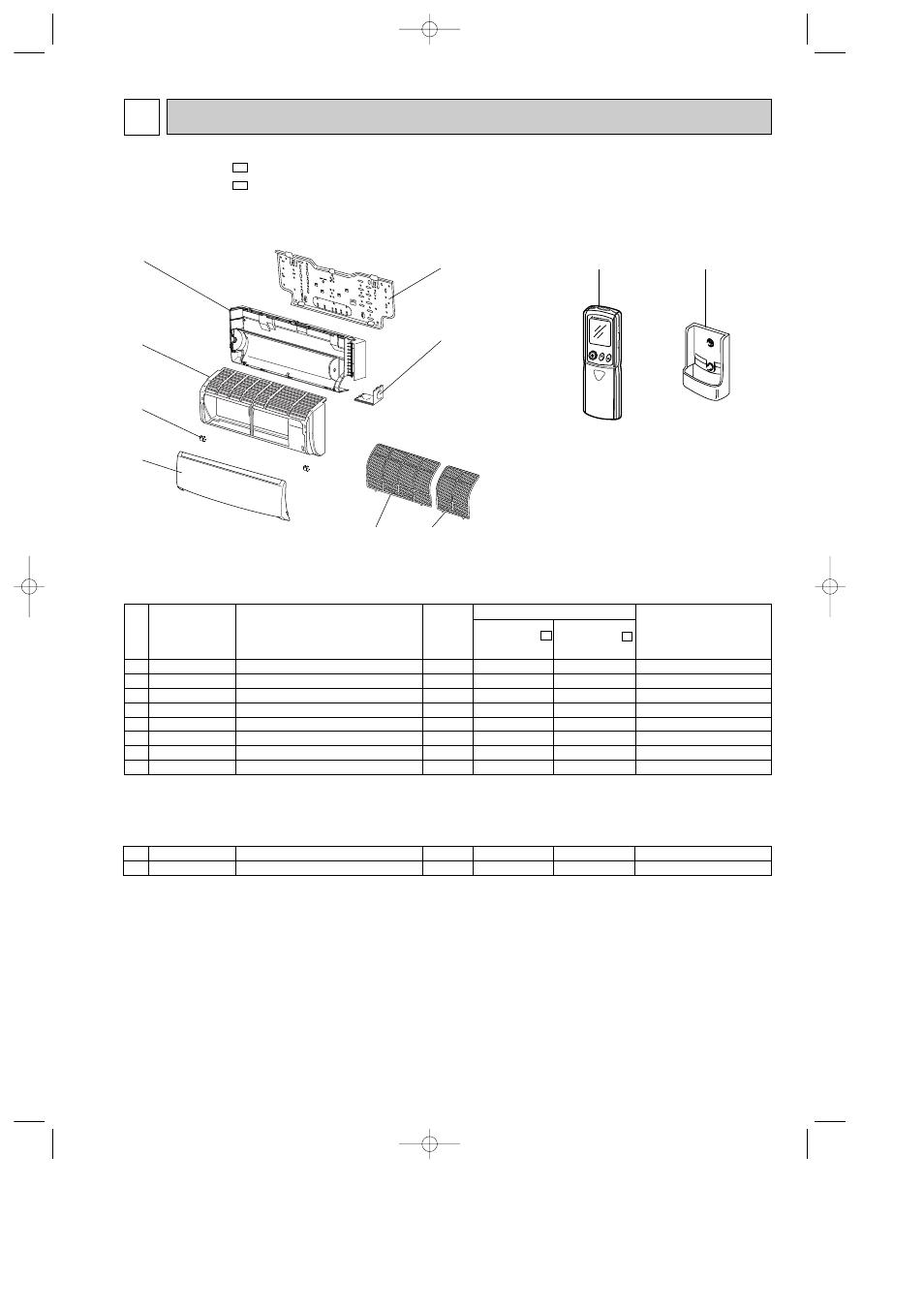 Parts List 11 Mitsubishi Electric Msz Fa35va User Manual Page 35 Wiring Diagram 40