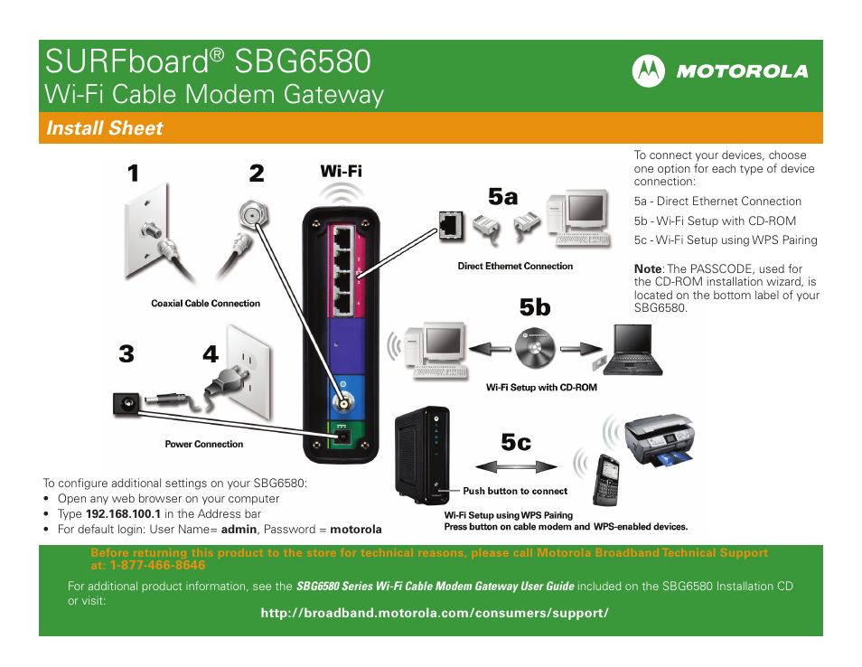 Manual Cable Modem Surfboard Sbg6580 Manual Guide