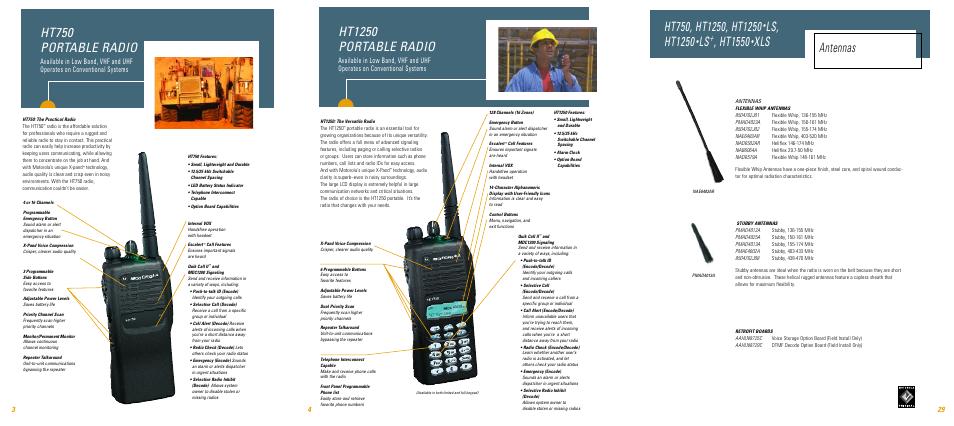 ht750 portable radio ht1250 portable radio ls ht1250 motorola rh manualsdir com motorola ht750 charger manual motorola ht750 charger manual