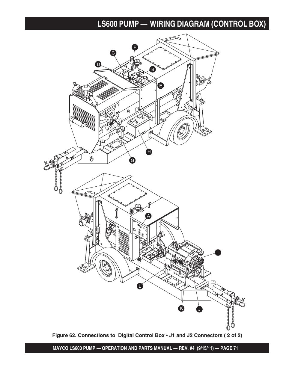 Ls600 Pump  U2014 Wiring Diagram  Control Box