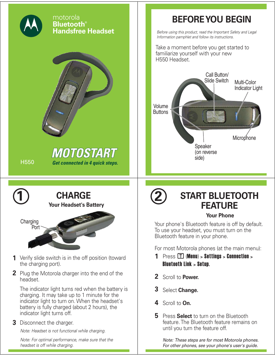 motorola h550 user manual 5 pages rh manualsdir com motorola hx550 bluetooth headset manual Motorola H550 Box