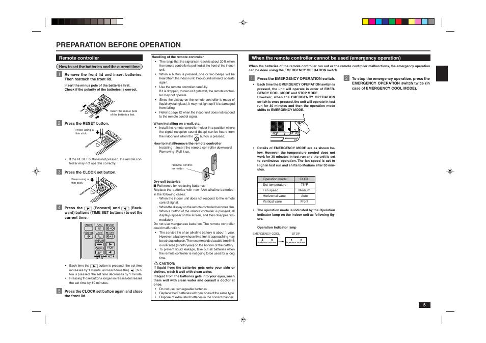 preparation before operation mitsubishi electric mr slim msy rh manualsdir com mitsubishi mr slim instruction manual mitsubishi mr slim r410a user manual