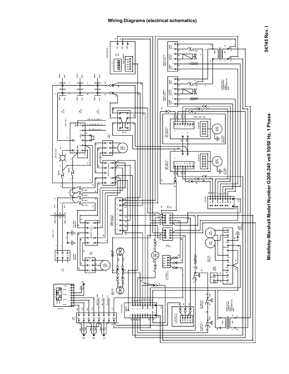 Middleby Marshall Wiring Diagram Free Download Lincoln Oven Ps870 Series Gas Ovens Ps870g User Manual Hoods At