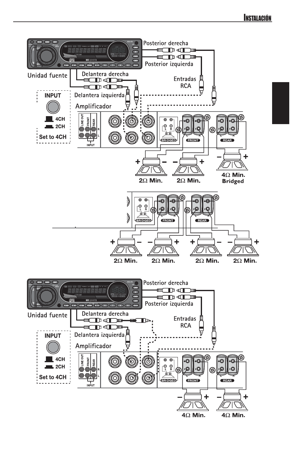 4 Channel Amp Wiring Diagram 1 Sub - Wiring Diagrams on 4 channel amp 4 speakers 1 sub, guitar string diagram, 4 channel amplifier installation kit, bridging 4 channel amp diagram, 2 channel amp diagram, 4 channel marine amps, 4 channel momentary remote wiring diagram, 1999 ford f-250 fuse box diagram, 4 channel audio amplifier, 4 channel keyboard amps, 4 channel car amp, bridged amp diagram, sound system diagram,