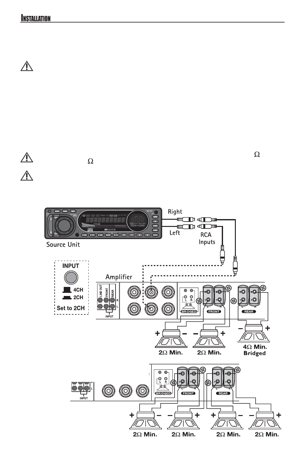 mb quart reference series 4 channel amplifier raa4200 page8 channel wiring mb quart reference series 4 channel amplifier polaris mb quart wiring diagram at bayanpartner.co