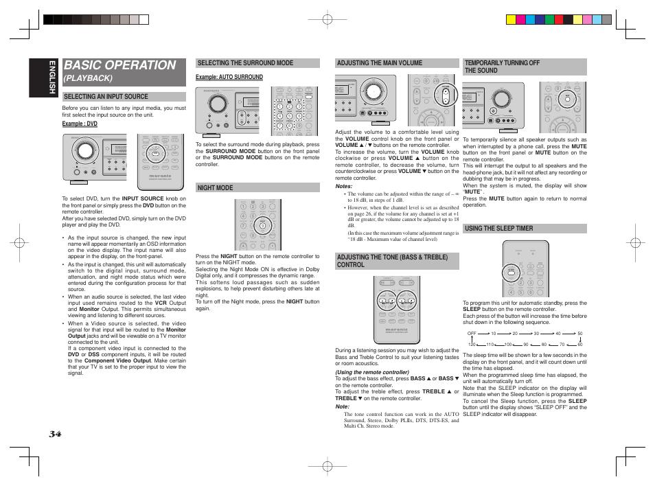 basic operation playback english marantz sr4002 sr5002 user rh manualsdir com Marantz SR5002 Problems marantz sr5002 manual pdf
