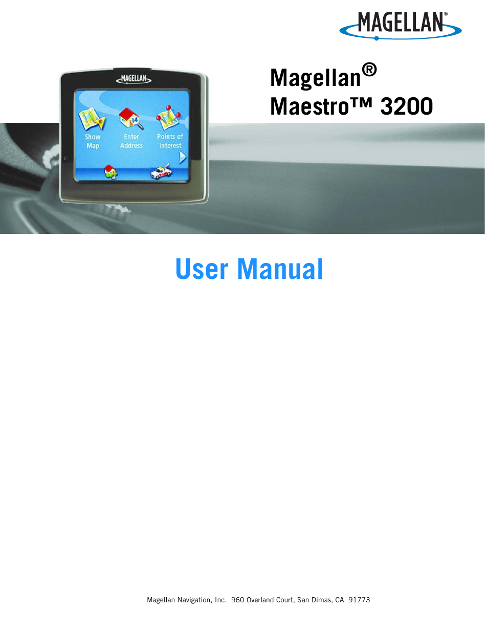 magellan maestro 4040 manual product user guide instruction u2022 rh testdpc co