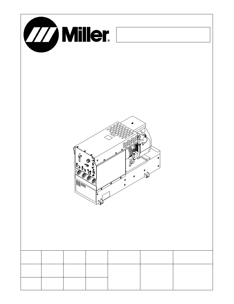 miller electric legend aead 200 le user manual 68 pages rh manualsdir com miller welders manuals for millermatic s-32s miller 452 welder manual