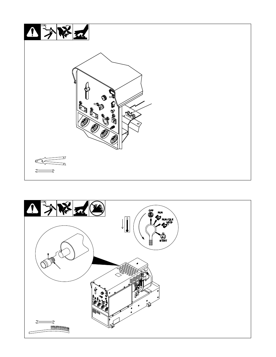 6 overload protection 7 inspecting and cleaning optional spark 6 overload protection 7 inspecting and cleaning optional spark arrestor miller electric legend aead 200 le user manual page 44 68 swarovskicordoba Image collections