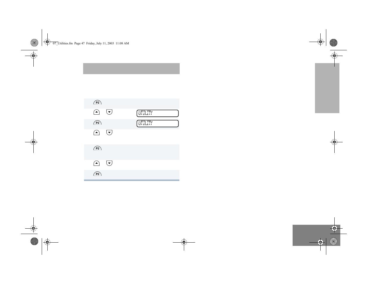 user settings motorola cm300 user manual page 49 68 original rh manualsdir com Motorola CM300 Programming Software Motorola PM400