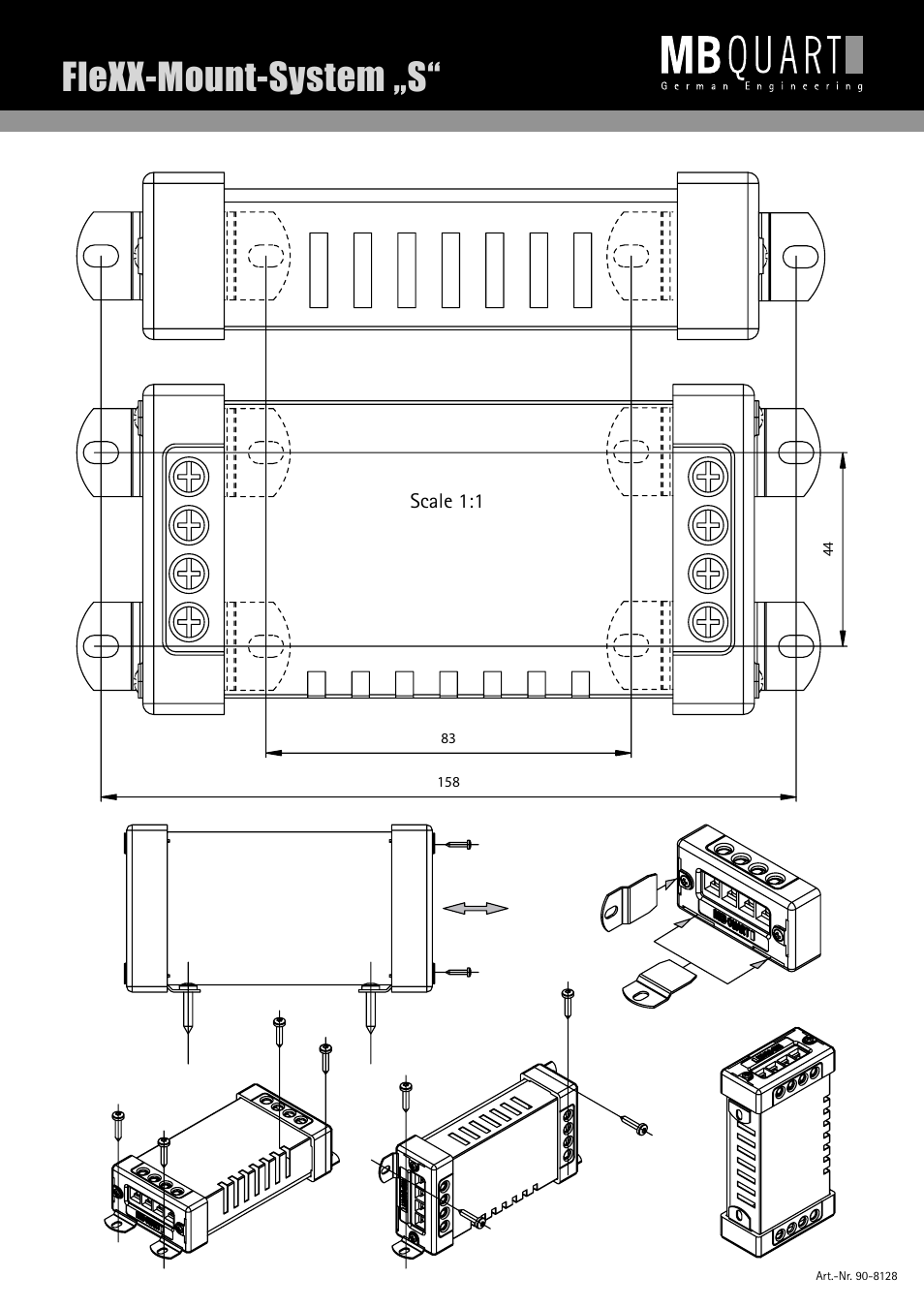 Flexx Mount System S Mb Quart Discus Dkg 116 User Manual Page 7 8 Crossover Wiring Diagram