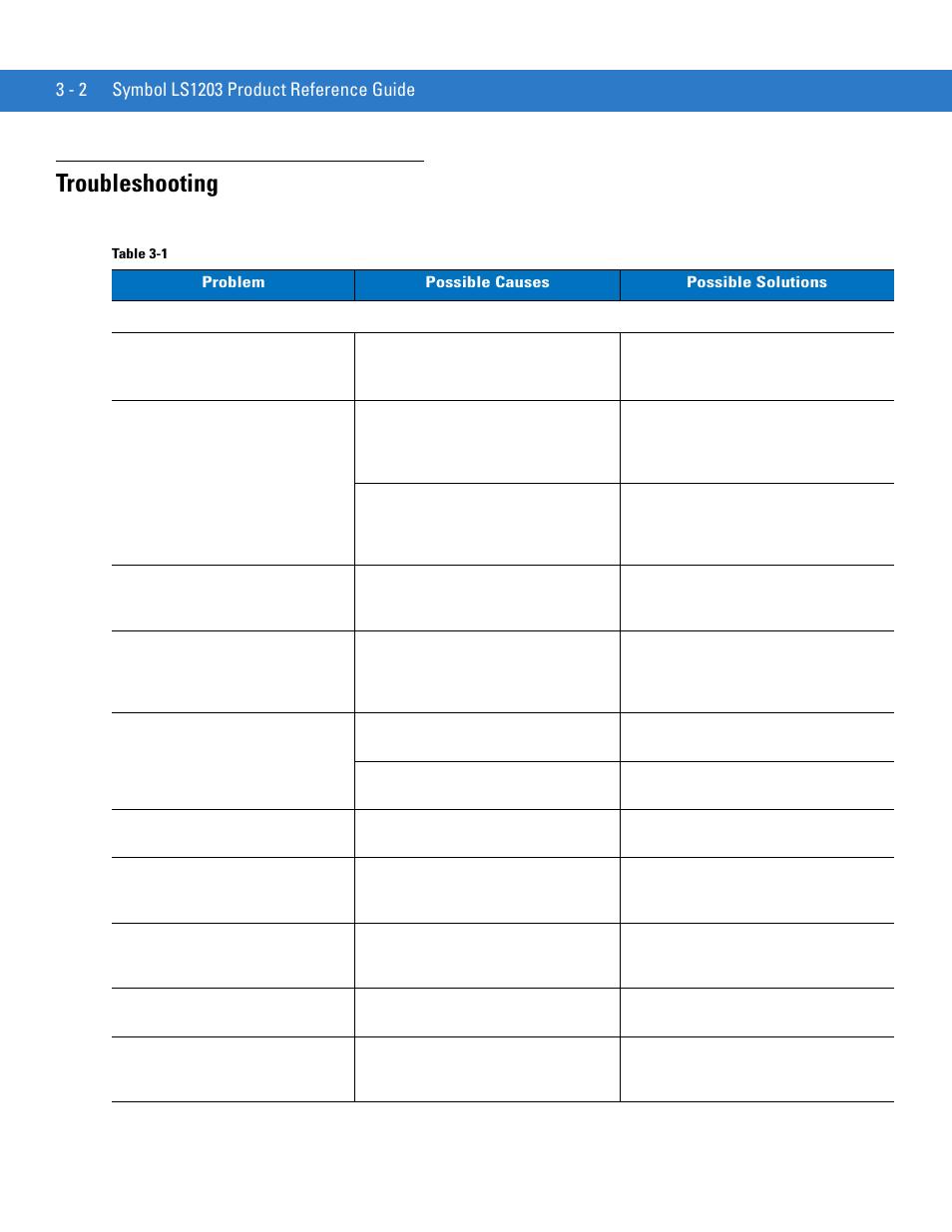 Symbol Ls1203 Programming Guide Various Owner Manual Guide